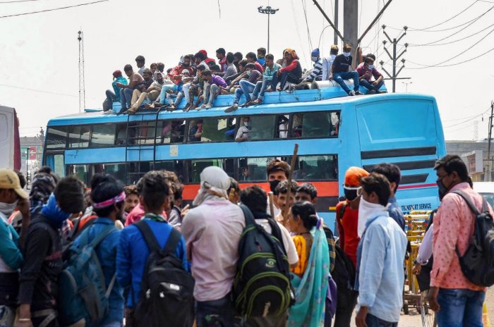 Walking Back Home: Plight of Migrant Workers Returning to Bihar