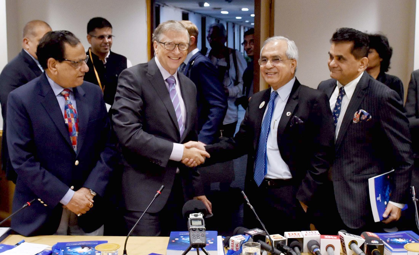 NITI Aayog, Gates Foundation and Wadhwani Foundation ink deal to support innovation