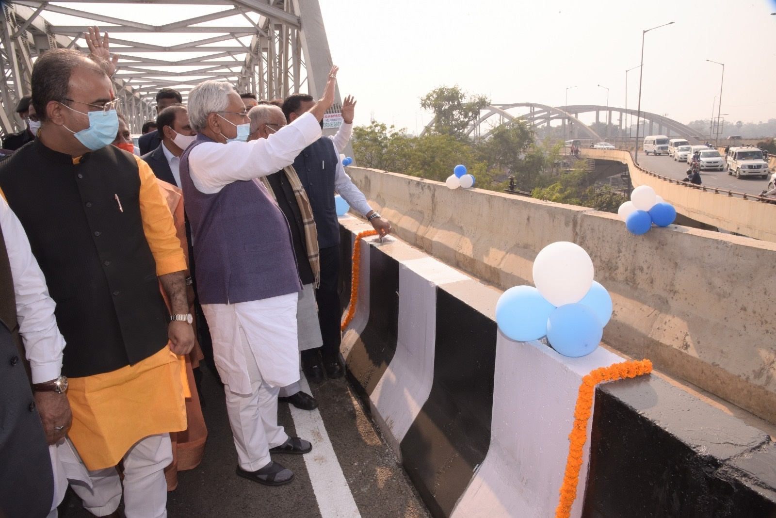 Bihar's longest elevated road opened for vehicular movement