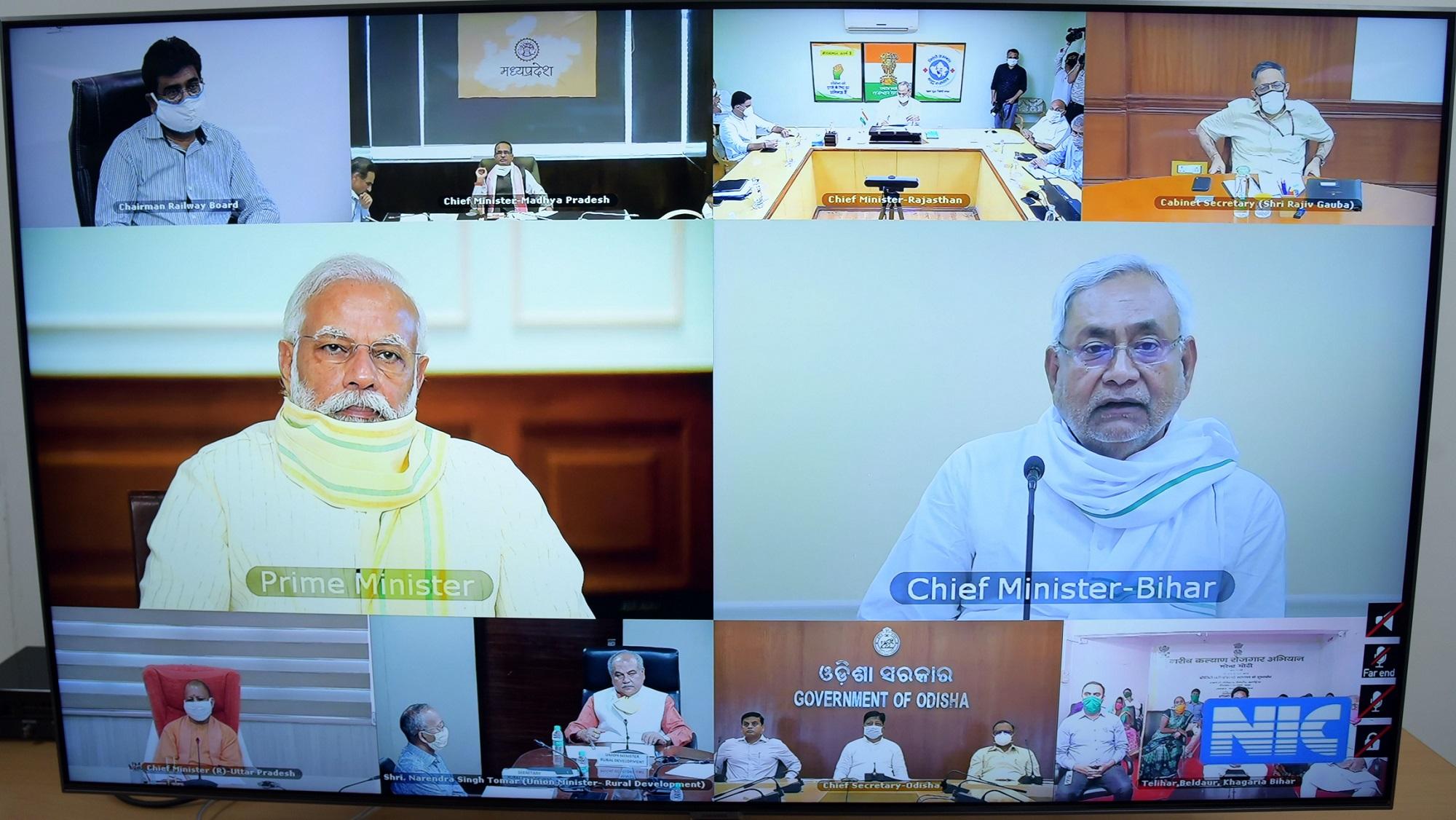 Modi flags off Rs 50000 crore employment scheme from Bihar's Khagaria district