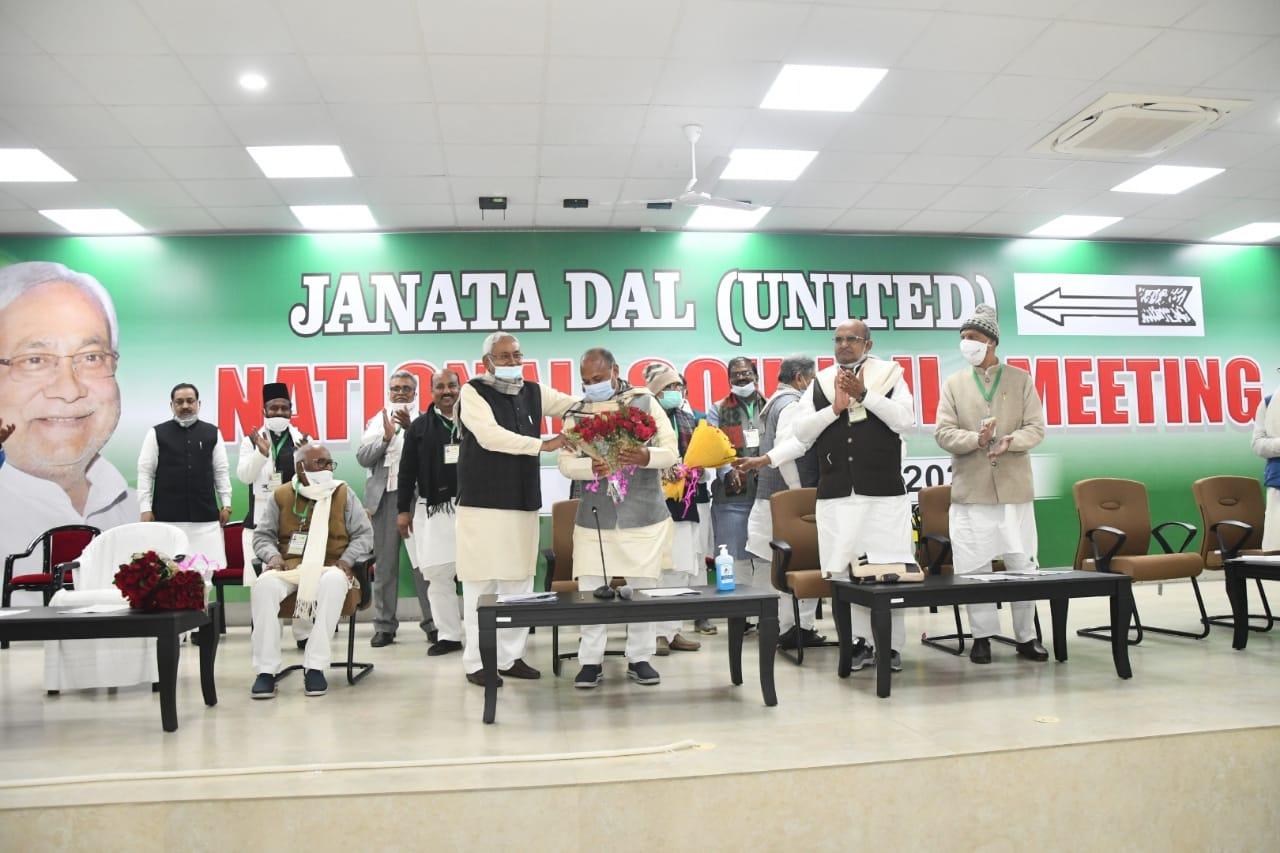 Bureaucrat-turned-politician RCP Singh becomes new JD(U) president